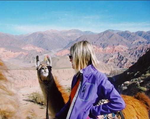 Argentina Tilcara trekking con i lama