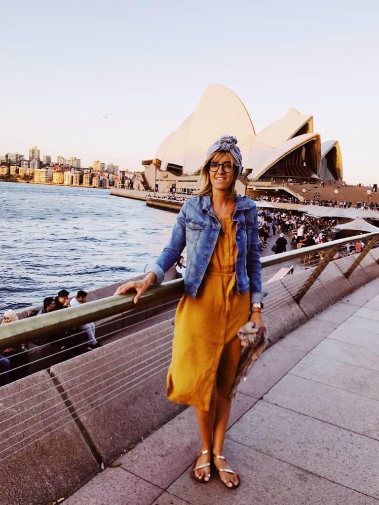Eccomi a Sydney, davanti all'Opera House © La Simo in viaggio