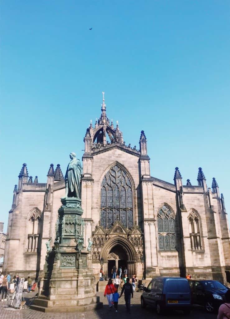 La Cattedrale di Saint Giles lugo il Royal Mile