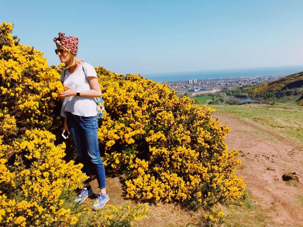 Trekking Holyrood Park Edimburgo