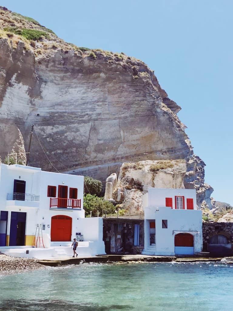 Paesi da vedere a Milos: Klima