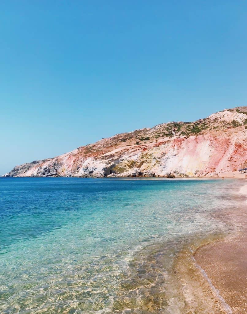 Le spiagge di Milos - Palichori