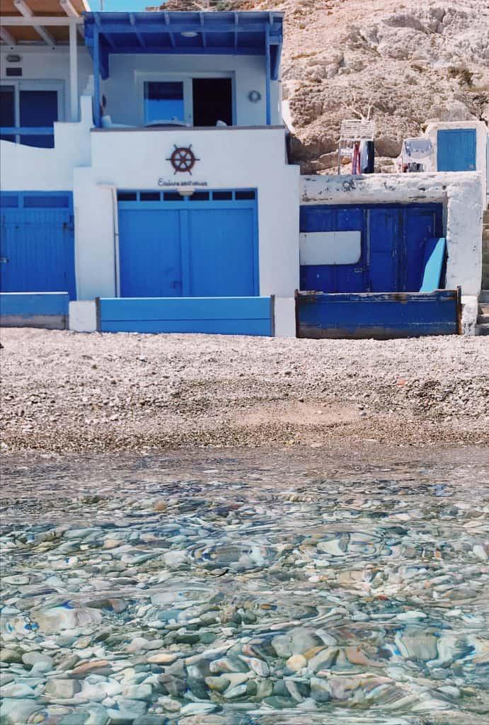 Case dei pescatori a Milos