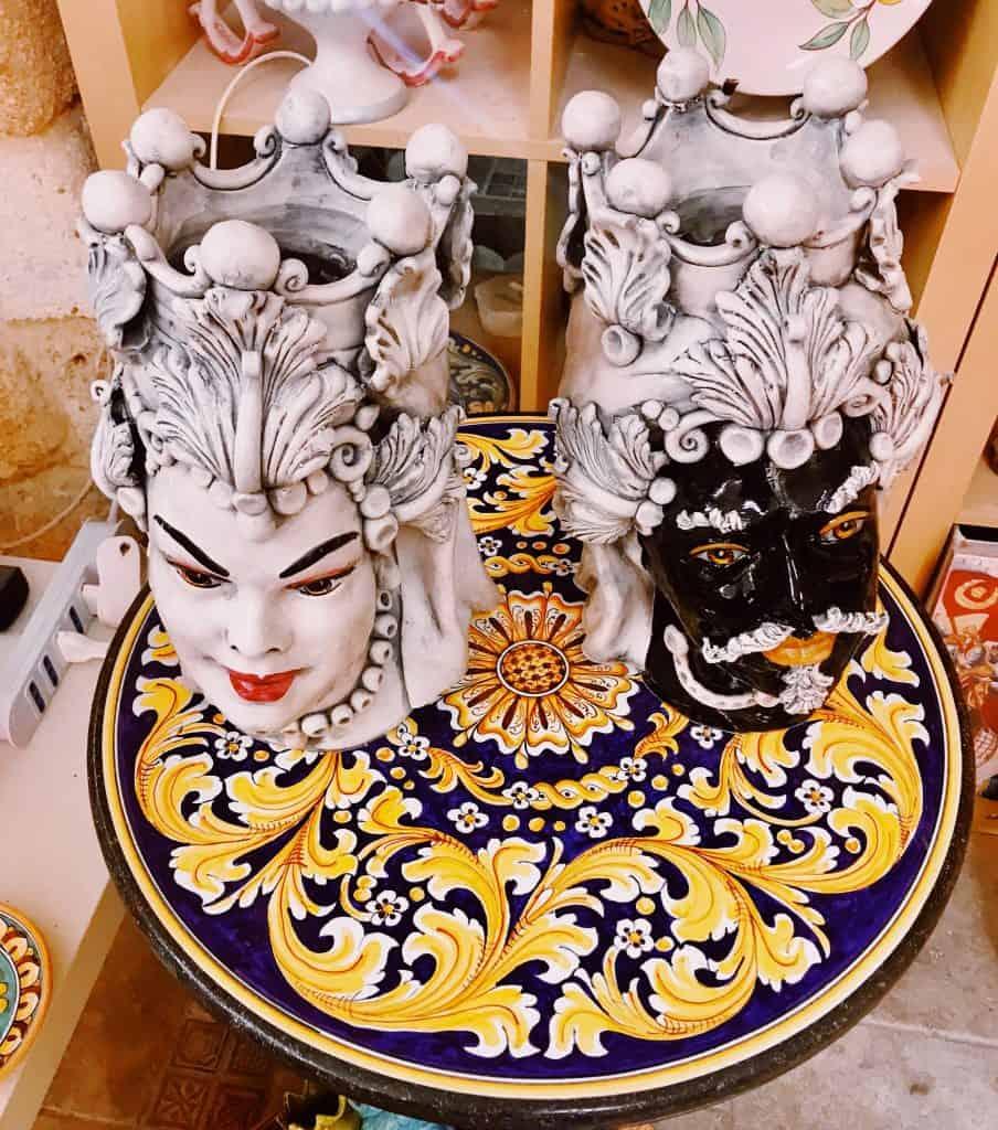 Le ceramiche di Caltagirone in Sicilia