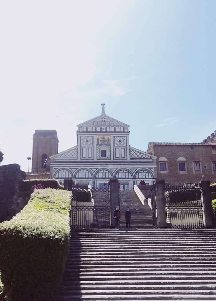Passeggiata a Firenze fino alla Basilica di San Miniato al Monte