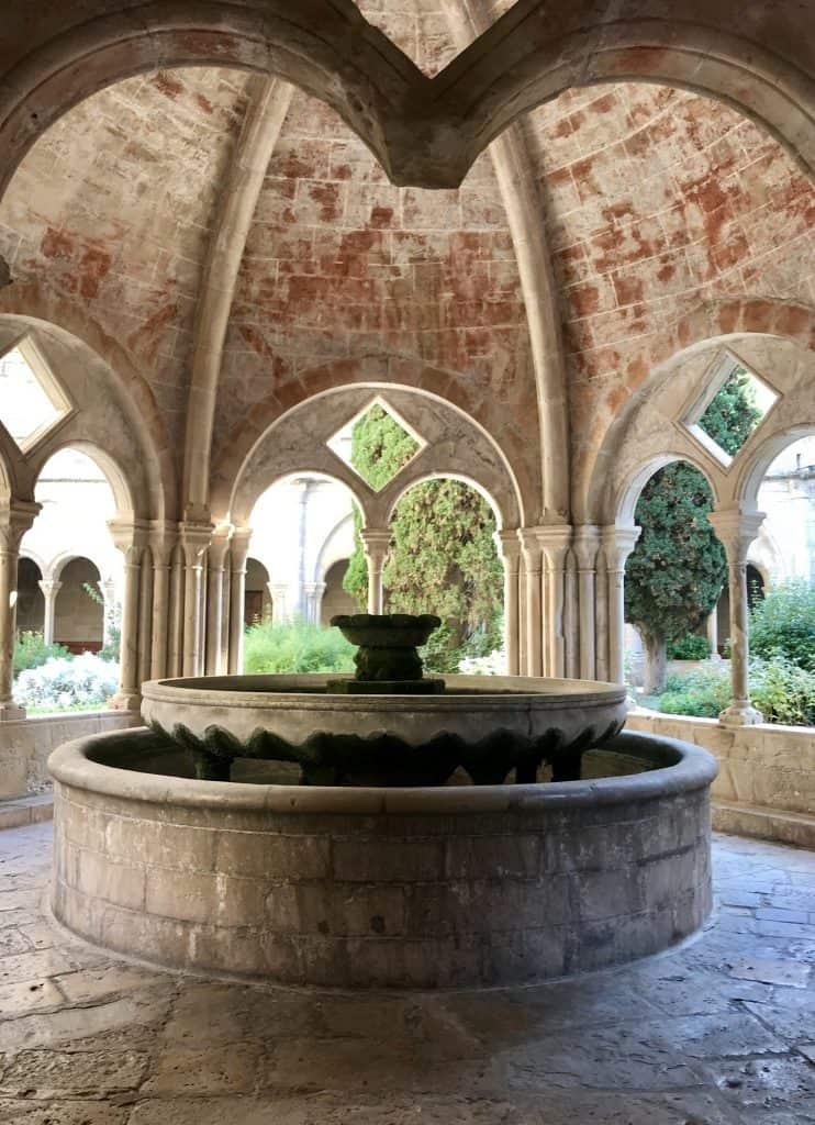 Fontana nel Monastero di Poblet