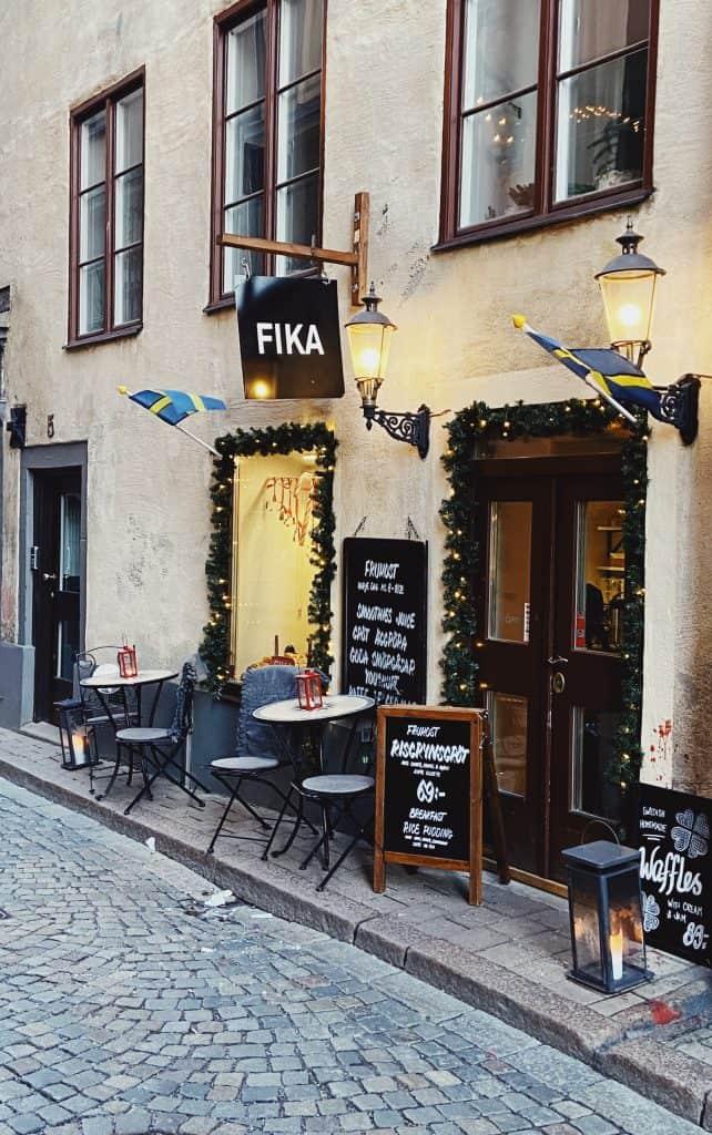 Fika in Svezia