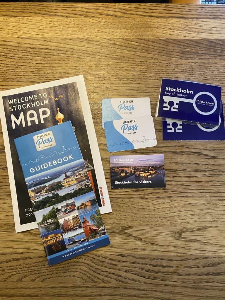 Visit Stockholm card
