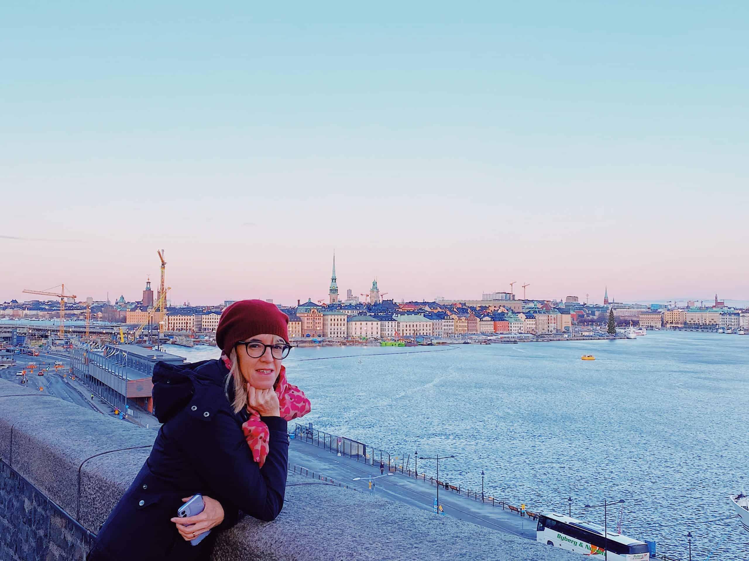 Vista panoramica di Stoccolma in Svezia