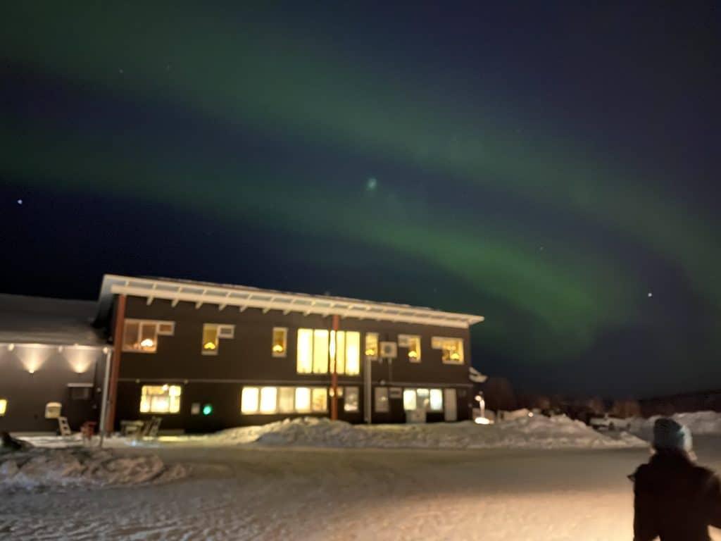 Vedere l'aurora boreale a Kiruna