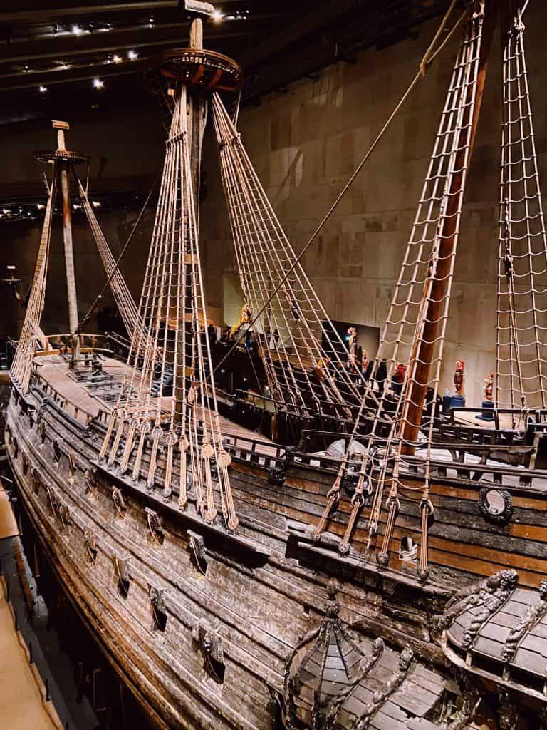 Cosa fare a Stoccolma: visistare il museo Vasa