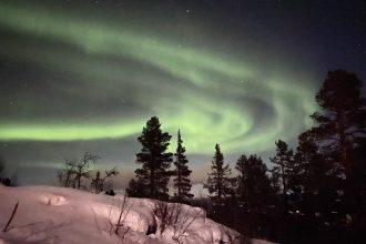 Vedere l'aurora boreale