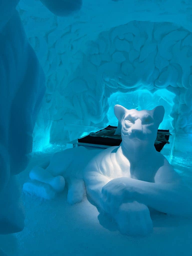 Icehotel in Lapponia