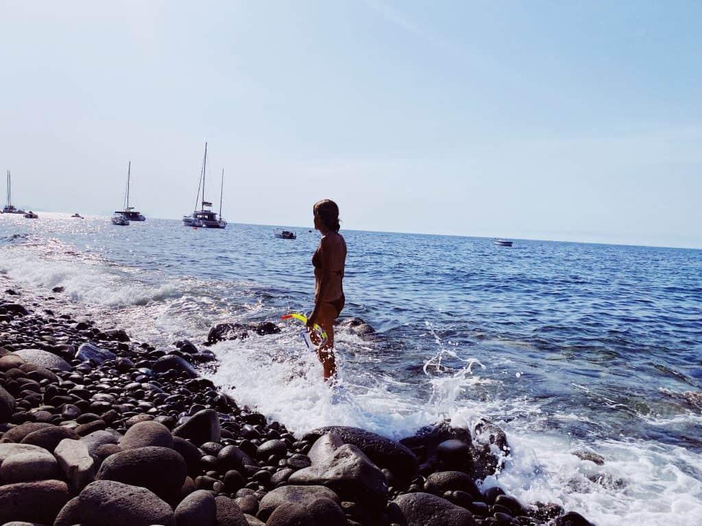 Spiaggia di Pecorini a MAre