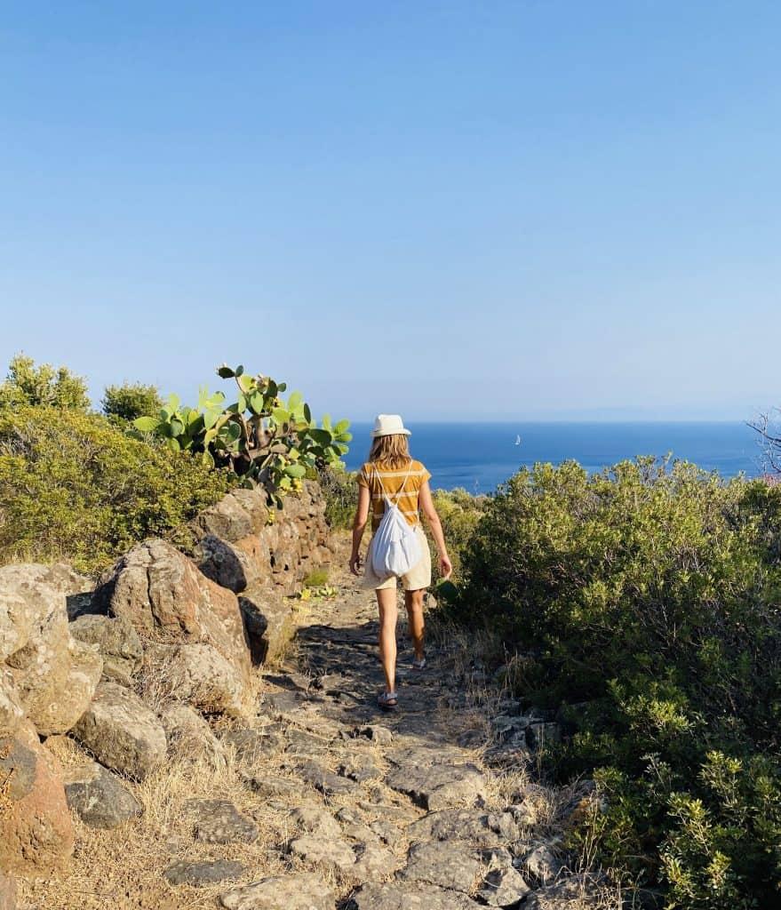 trekking vista mare