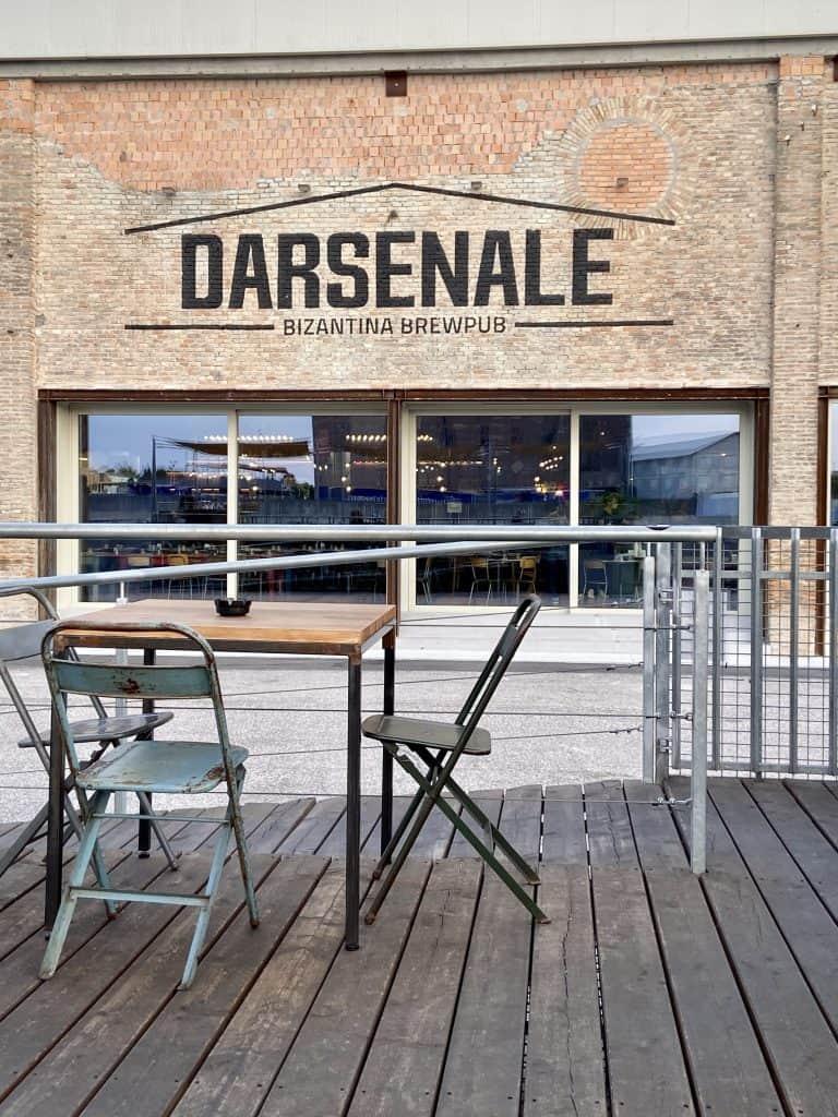 Zona della Darsena a Ravenna
